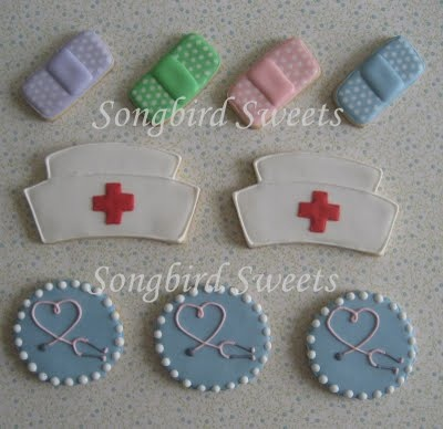 medico Galletas. Pinterest Nurse cookies, Sugar ...