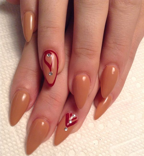 1000+ Images About Outline Nail Art On Pinterest