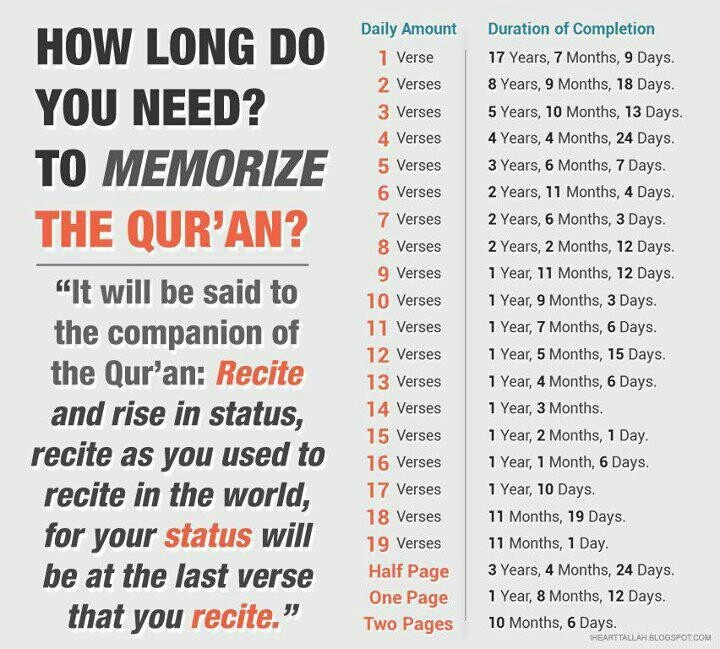 How long do u need to memorise the Qur'aan? #hifdhjourney #hifdh