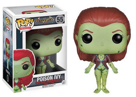 Pop! Heroes: Arkham Asylum - Poison Ivy | Funko