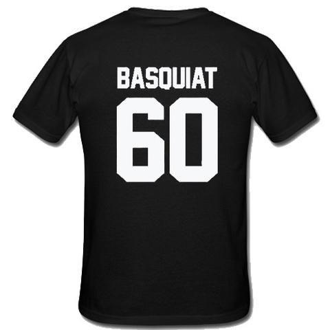 Basquiat 60 T-Shirt Back