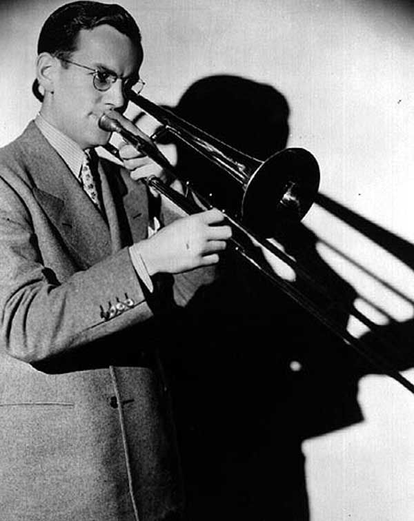 Glenn Miller [1904, Clarinda, IA - 1944 MIA over the English Channel] was an American big band musician, arranger, composer, and bandleader in the swing era. He was the best-selling recording artist from 1939 to 1943.