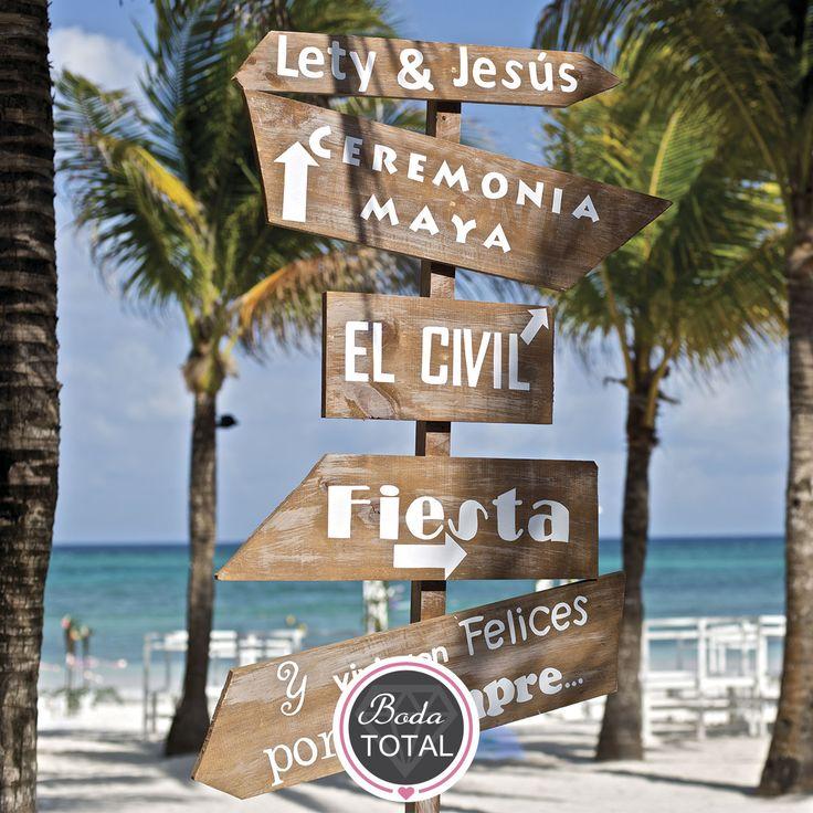 ¡Cásate en la playa! #Cotizaya y encuentra a tu organizador preferido #Tuboda