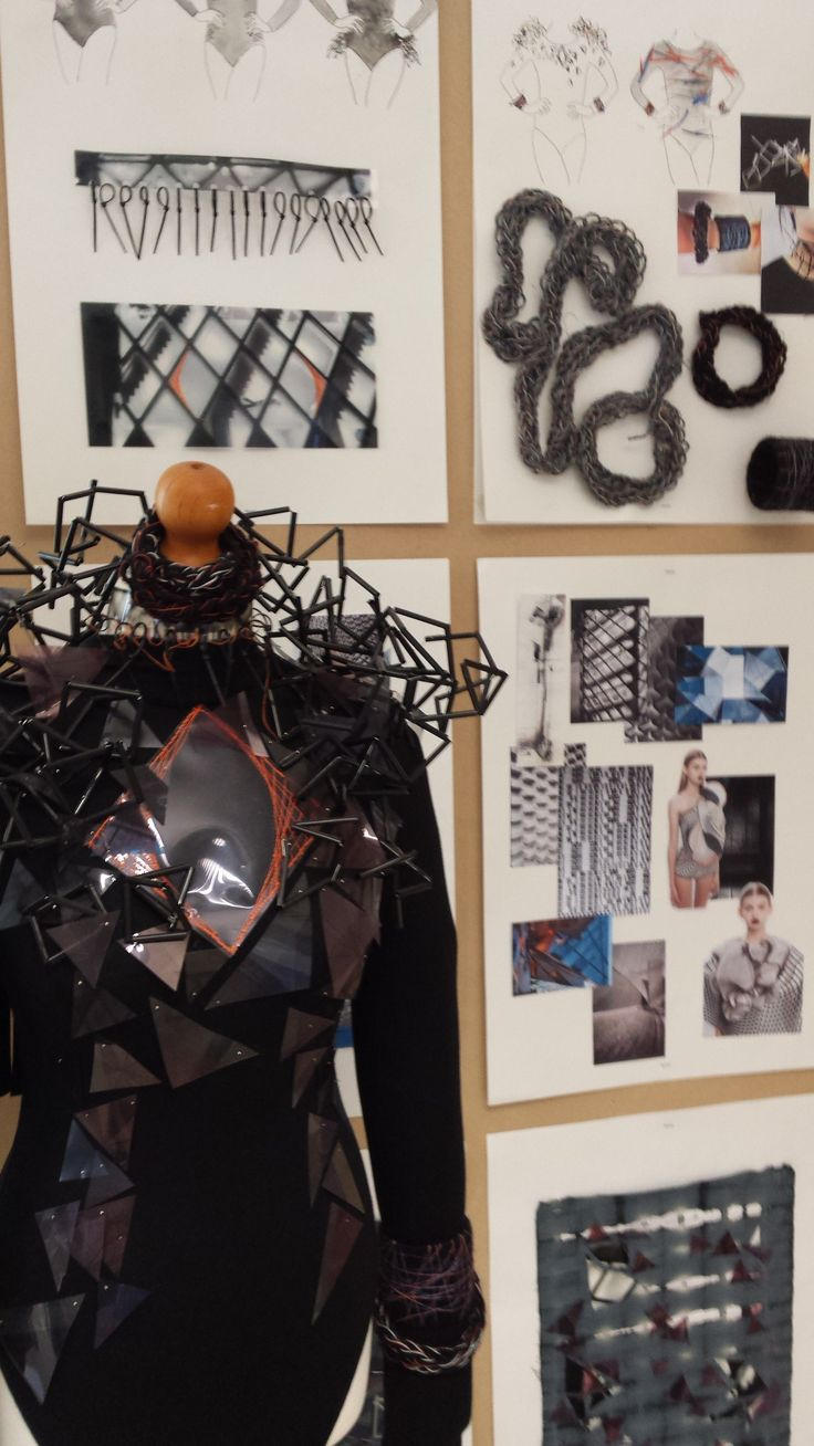 Katie McAllister's Architecture Inspired Fashion Project
