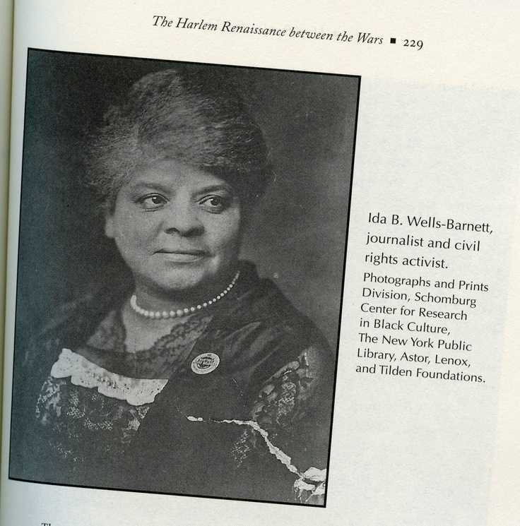 a biography of ida wells barnett a journalist newspaper editor suffragist and a leader in the civil  Ida bell wells (1862-1931) was an african-american journalist, editor, suffragist, sociologist, and an early leader in the civil rights movement.