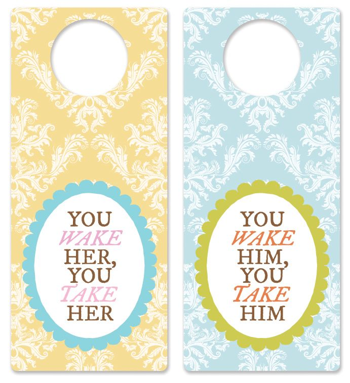 51 Best Door Hangers Images On Pinterest | Doors, Free Printable
