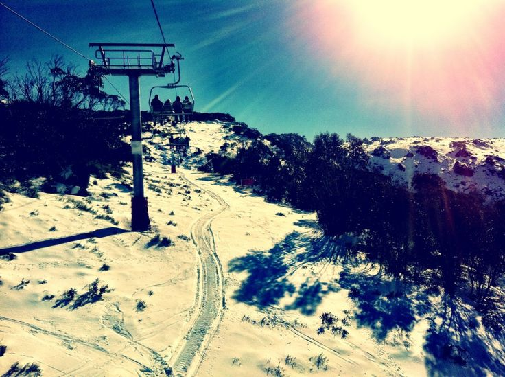 Snowy Mountains in Australia