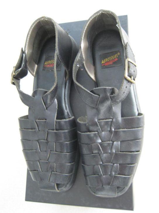 aerosoles gevlochten leren sandalen  Maat 37 Prijs: € 20,00