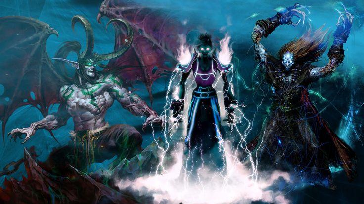 Vídeo Game World Of Warcraft  Undead Priest Mage Ilidan Papel de Parede