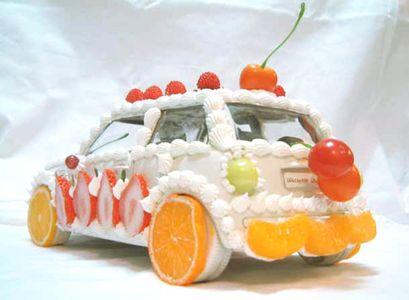 Mini CooperMinis Dog Qu, Des Sculpture, Minis Cooper, Food Cars, Watanabe Osamu Products Cars, Sculpture Bonbon, Food Art, Sculpture En, Delicious Food