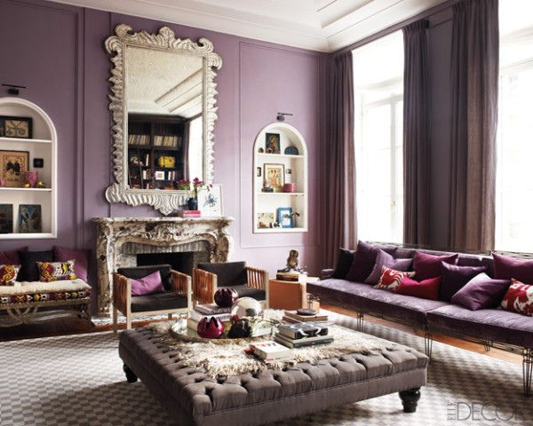127 Best Purple Living Room Ideas Images On Pinterest | Armchairs