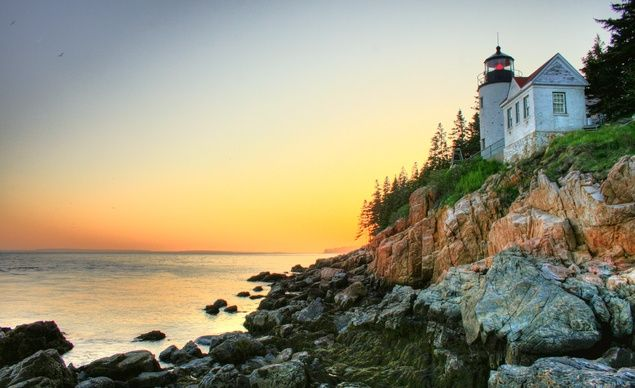 """Loved the ocean views in Key West, Florida, but my drive up the Maine coast was beautiful too. If I had to pick I'd say Maine."" —@Travelaholic  (Courtesy cmiller29/myBudgetTravel) From: 33 Most Beautiful Places in America.: Beauty Lighthouses, The Maine, Acadia National Parks, Desert Islands, Beautiful Places, Summer Travel, Budget Travel, Maine Coast, Maine Lighthouses"