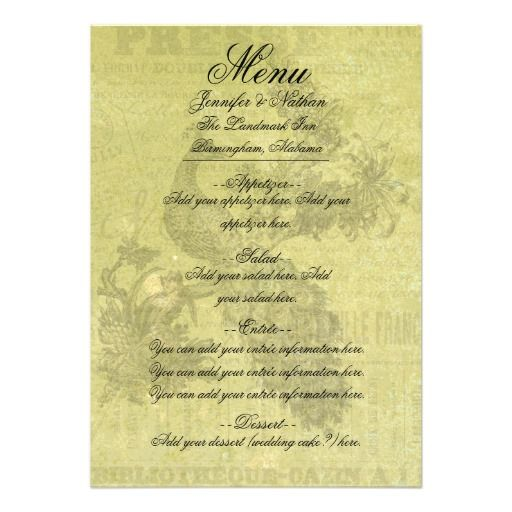 >>>Are you looking for          Vintage Peacock Customized Menu Card           Vintage Peacock Customized Menu Card so please read the important details before your purchasing anyway here is the best buyReview          Vintage Peacock Customized Menu Card Online Secure Check out Quick and E...Cleck Hot Deals >>> http://www.zazzle.com/vintage_peacock_customized_menu_card-161997565434079190?rf=238627982471231924&zbar=1&tc=terrest