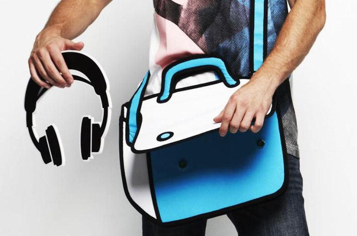 JumpFromPaper™ 2-D Bags Makes You Look and Feel Like You're Animated