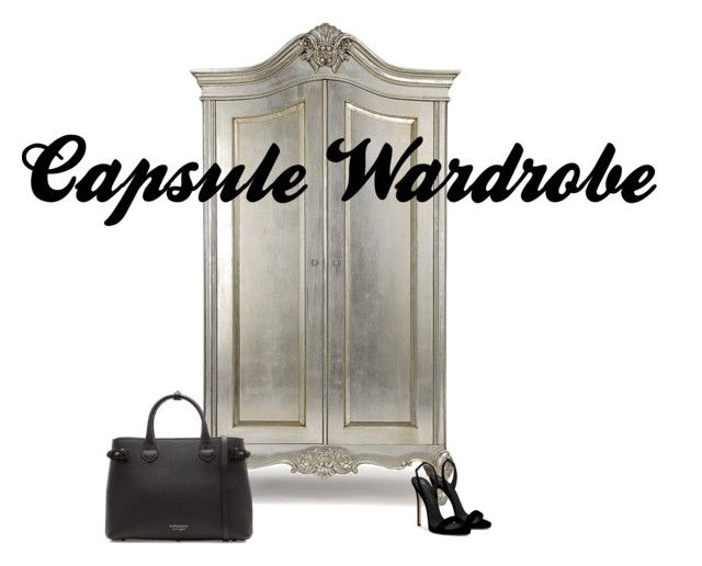 CAPSULE WARDROBE by maimmelbourne on Polyvore featuring Giuseppe Zanotti and Burberry