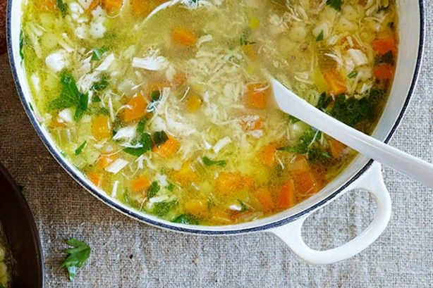This delicious soothing chicken soup is sure to warm you up on those cold winter nights.