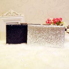 Beste Verkauf Strass Silber/Gold/Schwarze Kupplungen Taschen Frauen Messenger Kette Umhängetaschen Für Hochzeit Abendtaschen //Price: $US $48.00 & FREE Shipping //     #dazzup