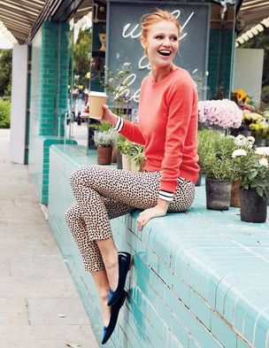 Bistro Crop Trousers in butterscotch from Boden usa.  $74