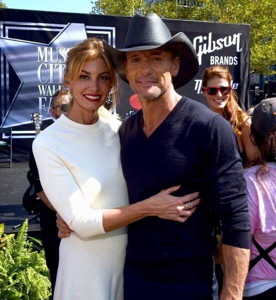 Faith Hill And Tim McGraw Nashville Getting Their Stars I Was There
