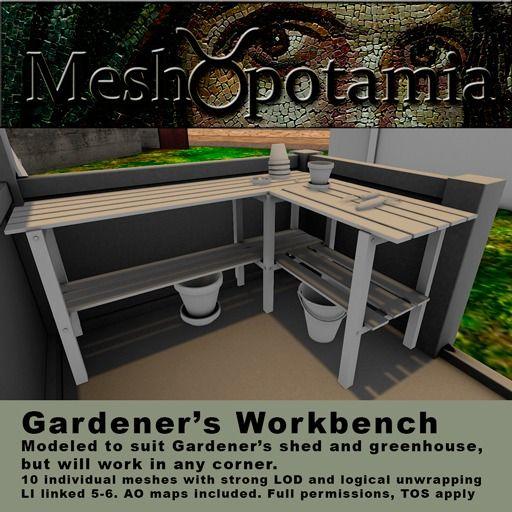 Meshopotamia Gardeners Workbench kit