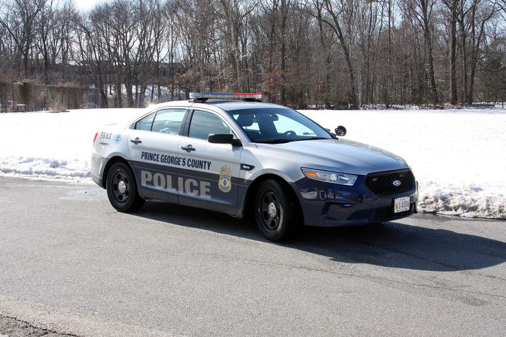 Prince Georges County Maryland, Prince Georges County Police Ford Interceptor Sedan vehicle.