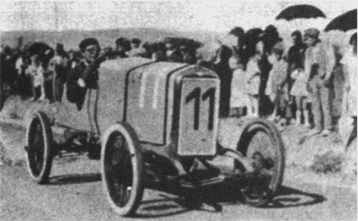 Gran Premi Penya Rhin Vilafranca Penedes 1921- 1923  Ruperto Andía, con Izaro, 1921