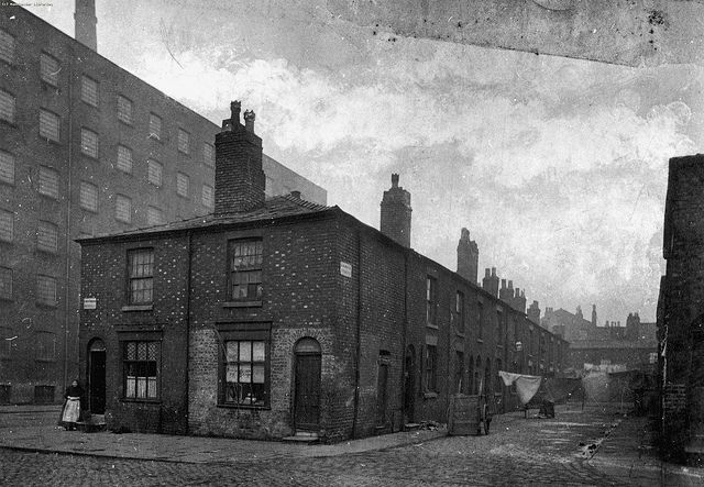 James Street, Chorlton on Medlock, 1895