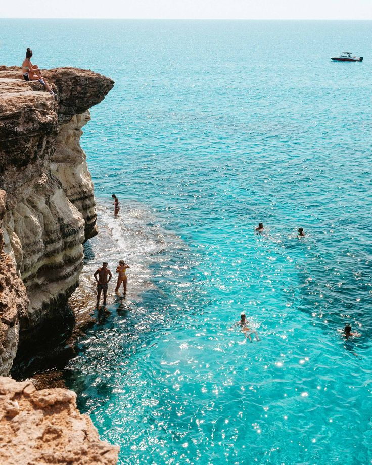 Sea caves in Paphos Cyprus via Find Us Lost   A Travel Blog   The Cyprus Mini Gu…