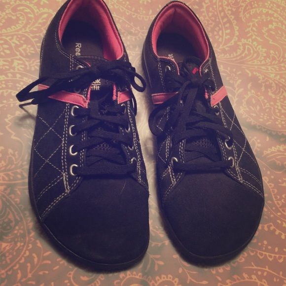 CrossFit Shoes CrossFit shoes cute for leisure and workouts. Bought and never worn as you can see On the pics. Reebok Shoes Athletic Shoes