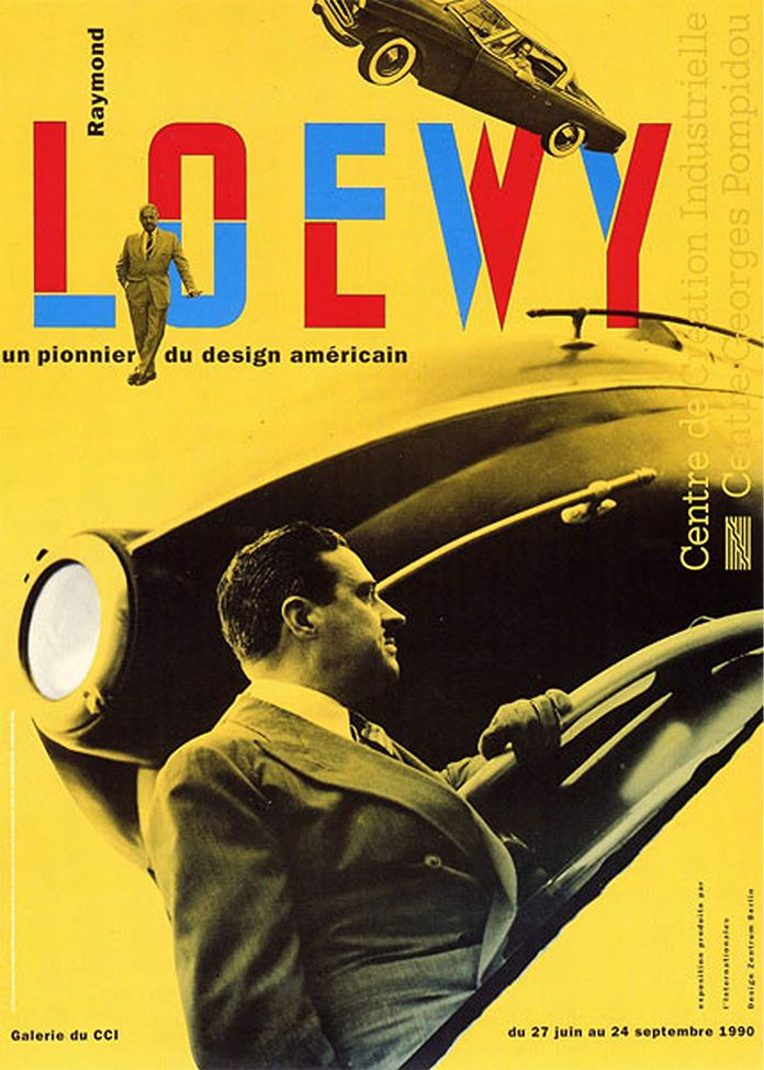 jean-widmer-affiche-exposition-raymond-loewy-1990