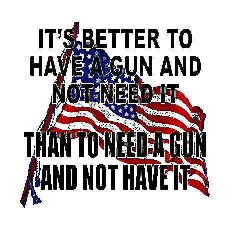 """2nd Amendment....""""AMEN"""" TO THIS ONE BROTHERS AND SISTERS....EVERY AMERICAN SHOULD A HAVE GUN.......GET IT NOW PEOPLE."""