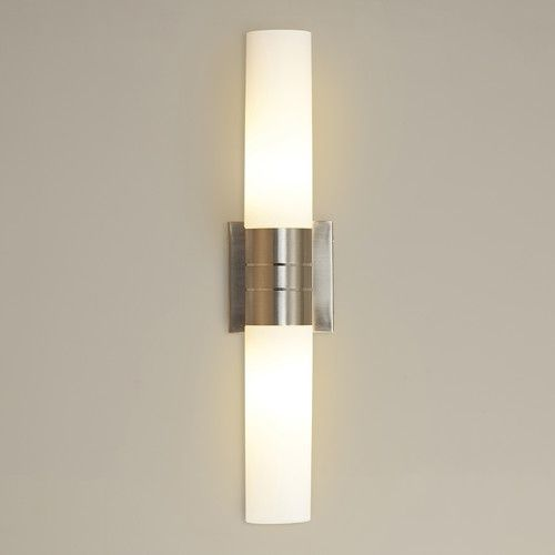 Bathroom Tube Sconces 27 best sconces images on pinterest | wall sconces, sconces and