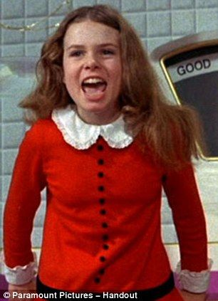 """""""I Want It Now!!!"""",  Julie Dawn Cole as Veruca Salt, """"Willy Wonka & the Chocolate Factory"""" (1971)"""