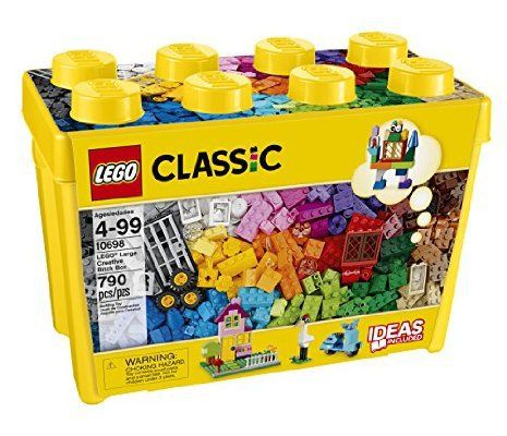 *AMAZON DEAL* LEGO CLASSIC LARGE CREATIVE BRICK BOX 790 PIECES!!