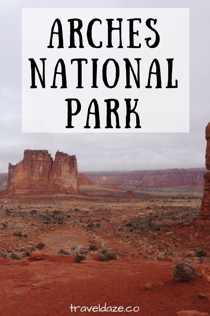 Explore Arches National Park in this photo diary