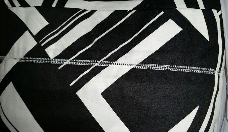 NEW RALPH LAUREN *Ellington Art Deco* Black & White Duvet Cover KING  $430 #RalphLauren #Modern