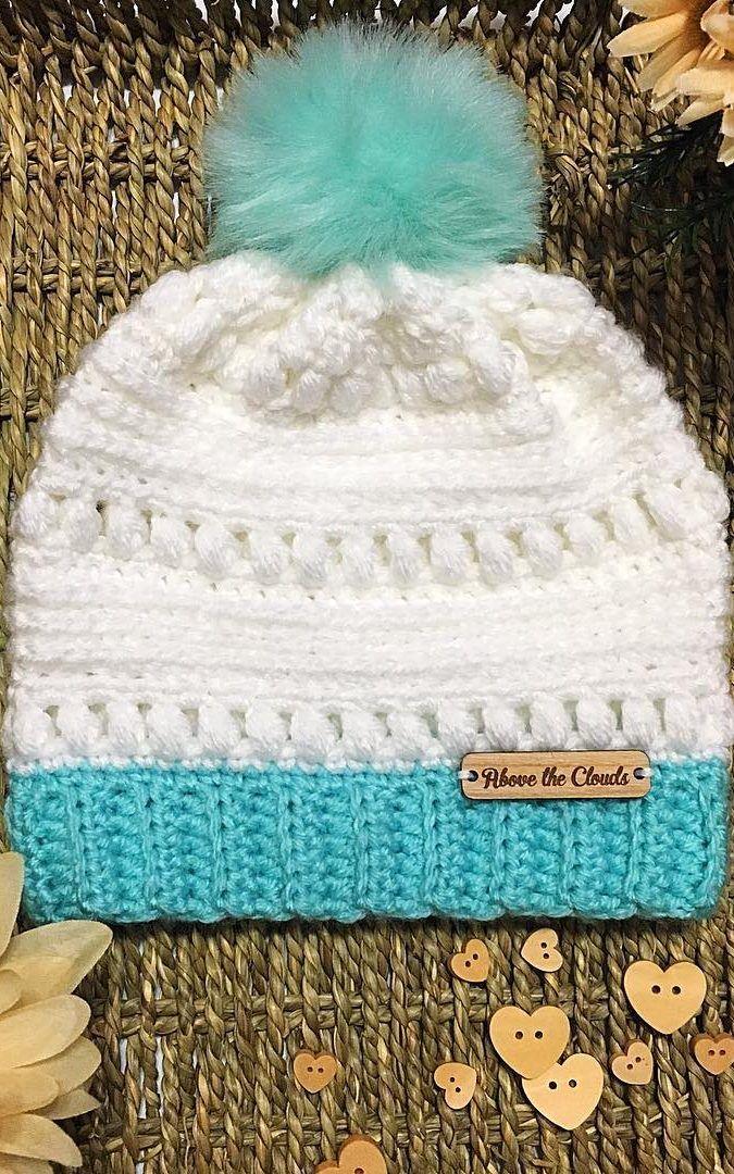 Padrões de chapéu de beleza, gorros de crochê grátis para iniciantes e idéias de imagem para 2