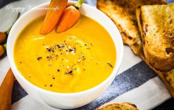 Przepisy na zupy warte spróbowania. Tym razem w roli głównej marchewka, z której przygotowaliśmy smaczną zupę-krem. Lista zakupów: marchewka, mleko, włoszczyzna, przyprawy.