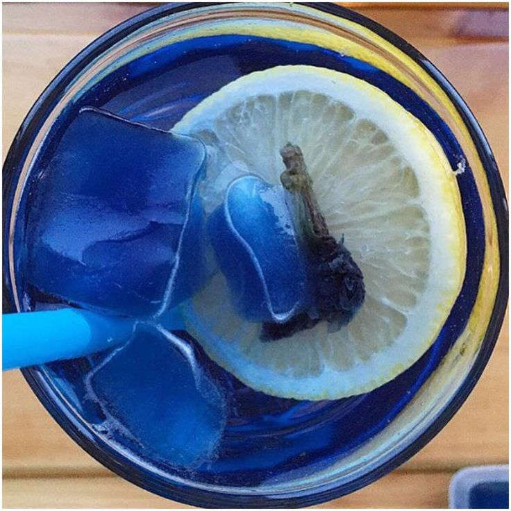 тайский синий чай butterfly pea tea