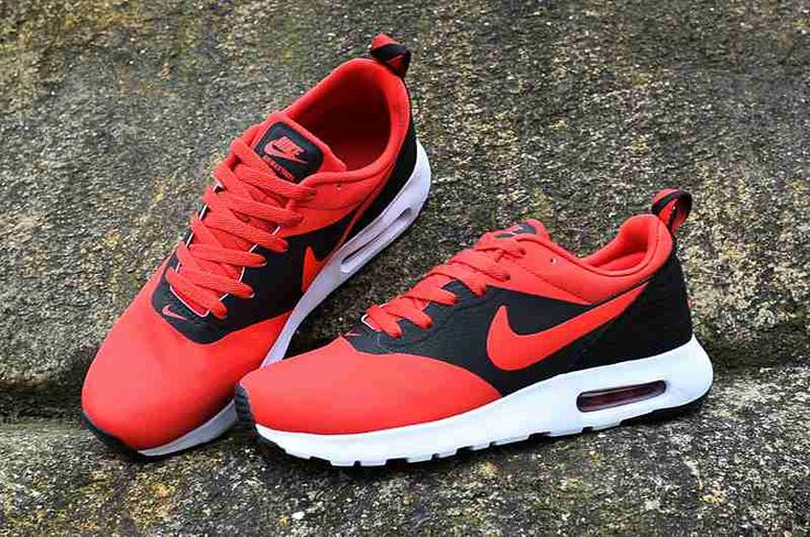 Nike Air Max Thea Men Black Red Shoes