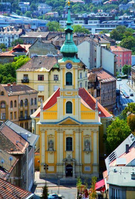 Church of Krisztinaváros...Budapest