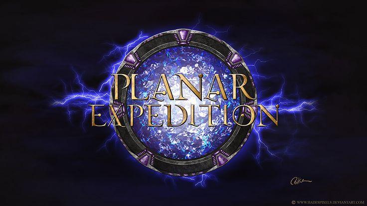 Planar Expedition Logo by HadesPixels.deviantart.com on @DeviantArt