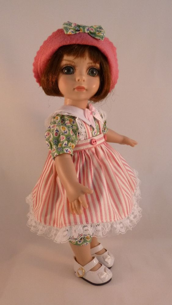 """Rompers Outfit for Outfit for 10"""" Patsy / Ann Estelle Tonner Dolls by Apple"""