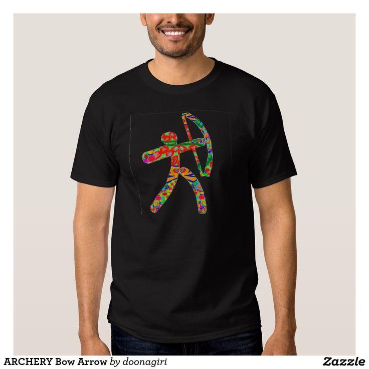 ARCHERY Bow Arrow Tee Shirts
