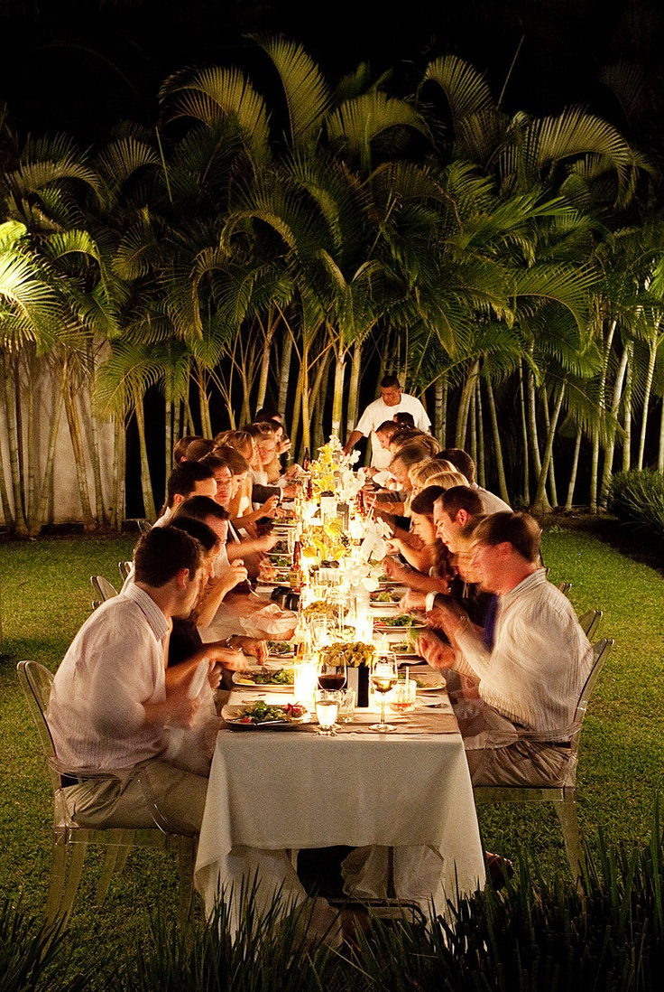 tropical dining under the stars  Photography By http://licensetostill.com,Wedding Coordination and Floral Design By  http://thedazzlingdetails.comUnder The Stars, Stars Photography, Outdoor Photography, Floral Design, Puerto Vallarta, Wedding Ideas, Dinner Parties, Tropical Dining, Dazzle Details