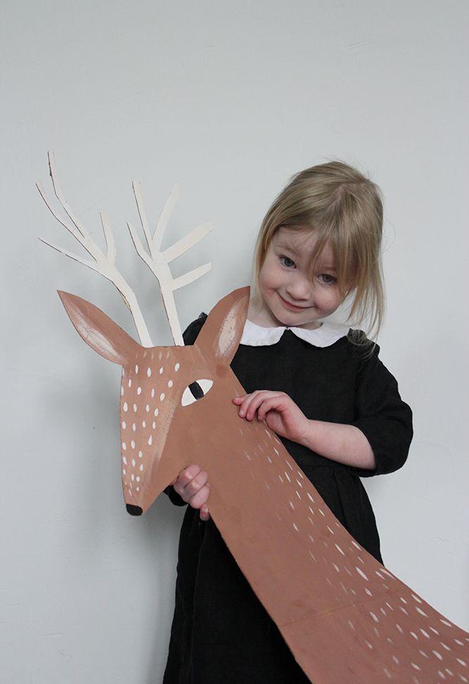Mer Mag: Christmas and a Cardboard Reindeer Head