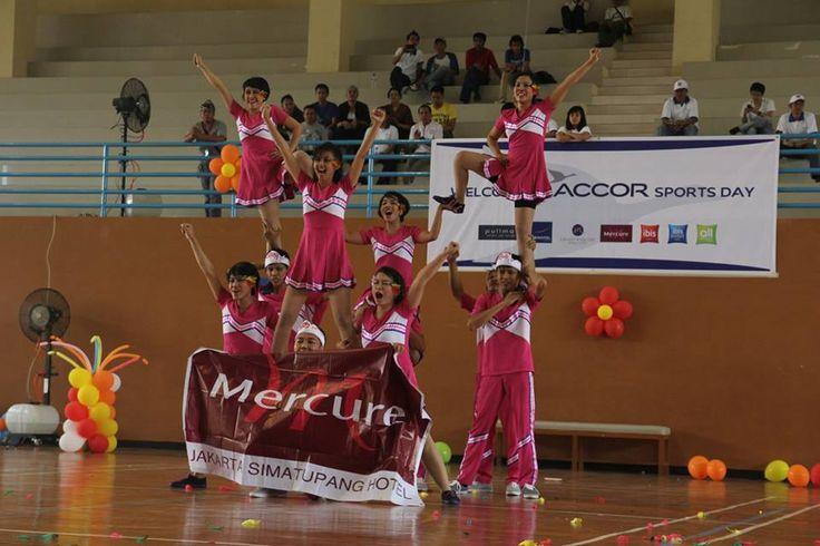 #SportsDay #Competition #TeamWork #Hotel #Accor #Jabotabek #Indonesia #Cheerleader