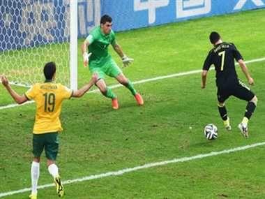 आखिरी ग्रुप मैच में स्पेन ने ऑस्ट्रेलिया को 3-0 से हराया http://www.jagran.com/news/sports-spain-beats-australia-30-in-group-b-at-world-cup-11421313.html #SpainvsAustralia   #FIFAworldcup2014
