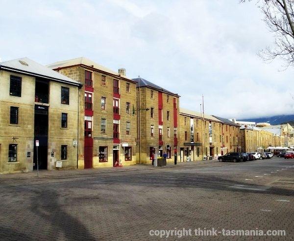 Salamanca Place ~ article and photo for think-tasmania.com ~ #Hobart #Salamanca #accommodation #Tasmania #luxury #arts #heritage #history #foodie