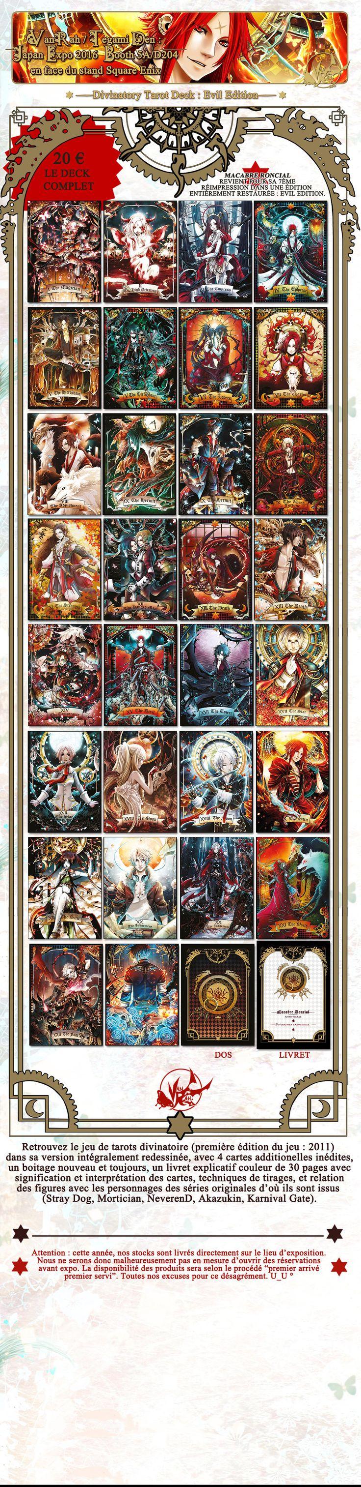 11++ Anime based on tarot cards ideas